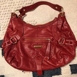 Isabella Fiore Red Pick Up Lines Angie hobo bag